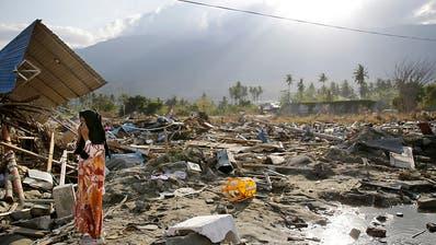 Erdbeben auf Sulawesi: Regierung fordert Abzug ausländischer Helfer