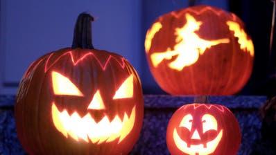 Halloween ist die Nacht des Gruselns. (Bild:KEYSTONE/Bernd Weissbrod)