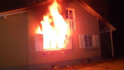 Drei Leichtverletzte bei Brand im Kanton Thurgau