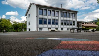 Das Schulhaus Kuonimatt in Kriens (Bild: Philipp Schmidli, 1. Juni 2018)