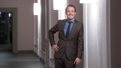 Matthias Schönbächler, neuer Datenschützer, im Regierungsgebäude. Bild: Boris Bürgisser (Luzern, 14. November 2018)