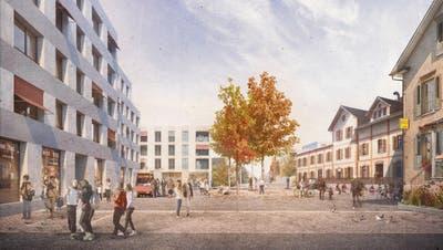 Visualisierung des geplanten Hochstammplatzes. (Bild: PD)