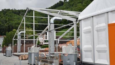 Trotz neuer Trägerschaft ist dieWiga 2019 aus Sicht des regionalen Gewerbes derzeit noch eine Baustelle, an deren Fundament noch zu arbeiten ist. (Bild: Heini Schwendener)