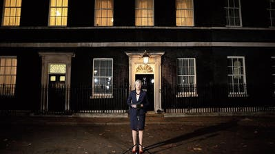 Die britische Premierministerin Theresa May. Bild: Dan Kitwood/Getty (London, 14. November 2018)