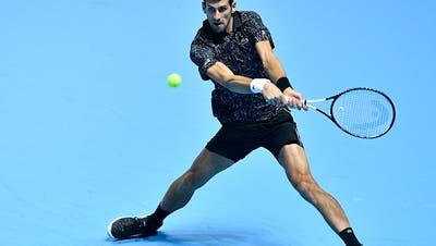 Djokovic erster Halbfinalist
