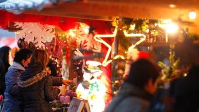 Sternen und Lichterglanz: In Ostschweiz die wieder Weihnachtsmarkt-Zeit. (Archivbild: Donato Caspari)