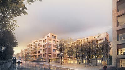 So soll die Überbauung «Forerver Young» an der Luzerner Bernstrasse aussehen. Visualisierung: PD