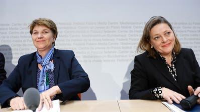 CVP-Fraktion nominiert Viola Amherd und Heidi Z'graggen