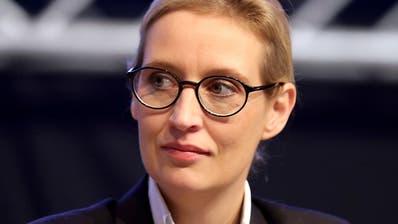 AfD-Fraktionschefin Weidel weist «Vorwürfe» in Spendenaffäre zurück