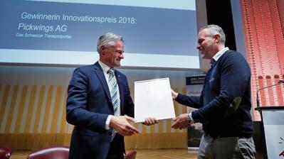 Elektronisch zum LKW-Auftrag: Pickwings gewinnt Zuger Innovationspreis