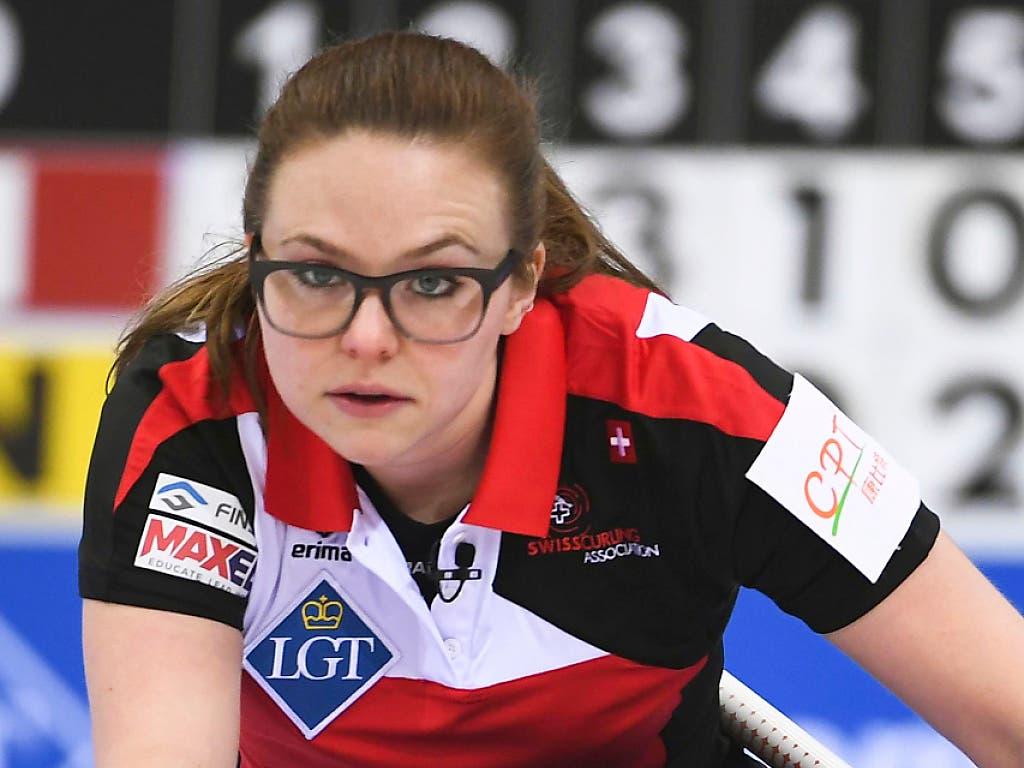 Weltmeister-Skip Alina Pätz verstärkt ab dieser Saison das Aarauer Frauenteam (Bild: KEYSTONE/AP CHINATOPIX)