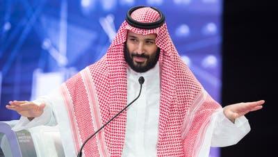Der saudische Kronprinz Mohammed bin Salman steht zunehmend unter Druck. (Bild: BandarAlgaloud/EPA (Riad,24. Oktober 2018)