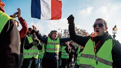 Demonstranten in Frankreich: «Es geht nicht nur ums Benzin»