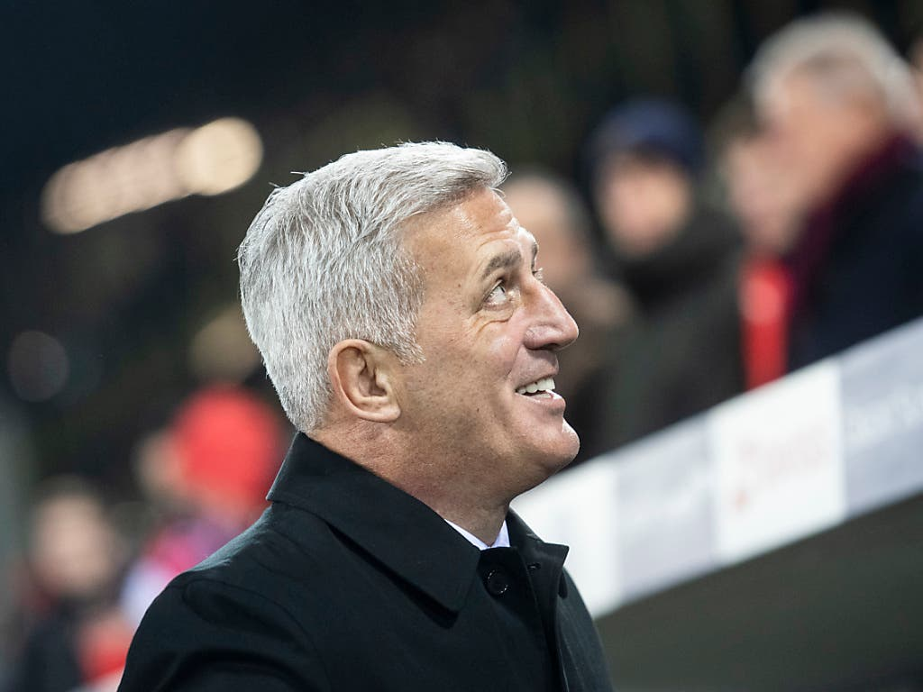 Stand zuletzt öfter in der Kritik: Nationaltrainer Vladimir Petkovic hatte nach dem 5:2-Sieg gegen Belgien gut lachen (Bild: KEYSTONE/ENNIO LEANZA)