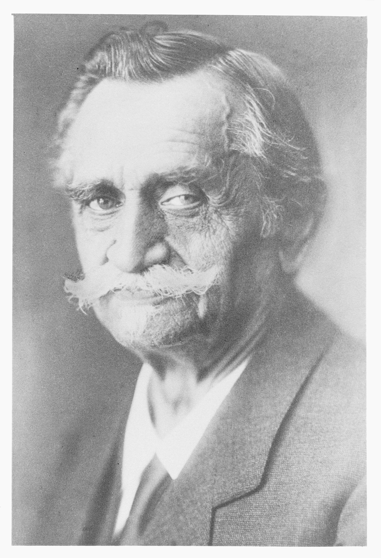 Firmengründer Josef Hug um 1924. (Bild: PD)