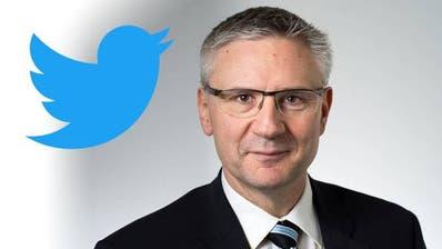 Andreas Glarner bekommt in der Twitter-Causa vom Bundesgericht Recht. (Bild:Alex Spichale, Montage: AZ)