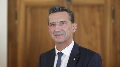 Bildungs- und Kulturdirektor Beat Jörg. (Bild: Florian Arnold, 17. April 2018)