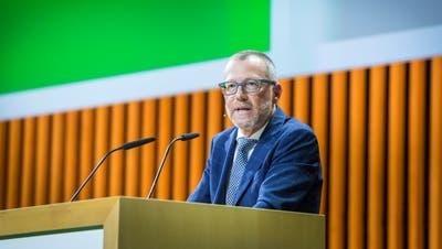 Heinz Huber verlässt die Thurgauer Kantonalbank. (Bild: Andrea Stalder)
