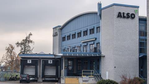 Also-Gebäude in Emmen. (Bild: Nadia Schärli, 16. November 2017)