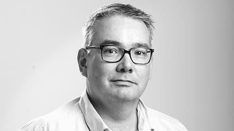 Harry Ziegler, Chefredaktor der Zuger Zeitung.