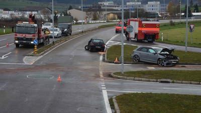 Fünf Verletzte bei Frontalkollision auf Autobahnzubringer in Gossau