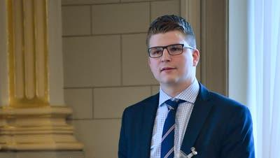 Von der Pfalz ins Bundeshaus: Ab 2019 politisiert Mike Egger in Bern. (Bild: Regina Kühne)