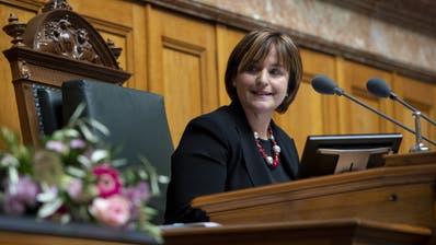 Marina Carobbio ist Nationalratspräsidentin
