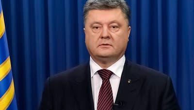 Ukrainisches Parlament billigt Poroschenkos Kriegsrecht