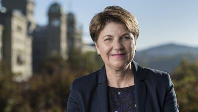 Sie will für die CVP in die Landesregierung: Viola Amherd. (Bild: Keystone)