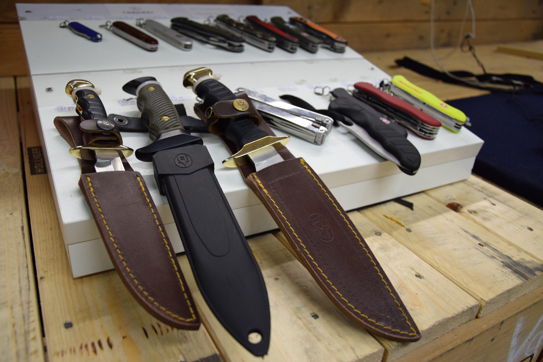 ...über grosse und kleine Messer...