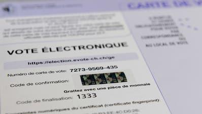Genf gibt sein elektronisches Abstimmungsportal auf
