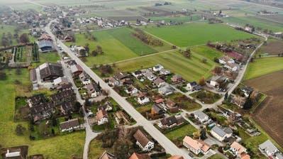 Blick über das Thurtal mit Hüttlingen (im Vordergrund) und Mettendorf. (Bild: Donato Caspari)