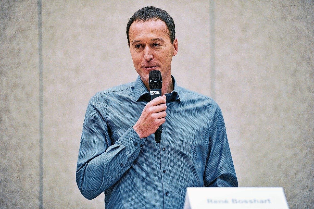 Der 46-jährige René Bosshart wohnt seit zwanzig Jahren in Fischingen und ist amtierender Gemeinderat.