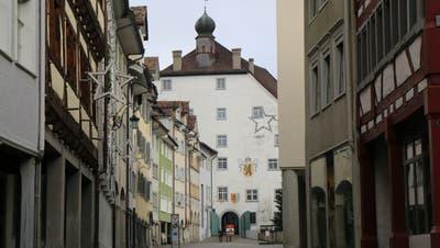 Der Hof zu Wil ist das dominanteste Gebäude in der gut erhaltenen Wiler Altstadt. Sein Ursprung liegt in einer Befestigungsanlage der Grafen von Toggenburg. (Bilder: Hans Suter)