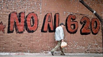 Argentinien: Grosse Sorge vor dem G20-Gipfel
