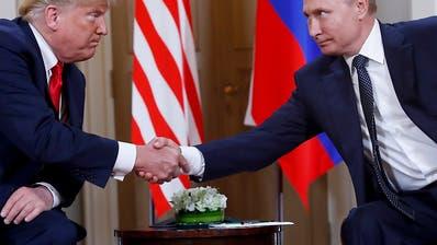 Treffen zwischen Trump und Putin wegen Ukraine-Krise auf der Kippe