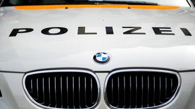 Ein Streifenwagen der Polizei. (Bild: Urs Jaudas)