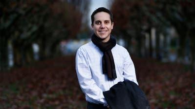 Tezos-Präsident Ryan Jesperson (38) am Zugersee. (Bild: Stefan Kaiser, 27. November 2018)