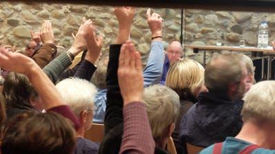 Die Pfyner Stimmbürger sagen Ja zum Budget 2019. (Bilder: Stefan Hilzinger)