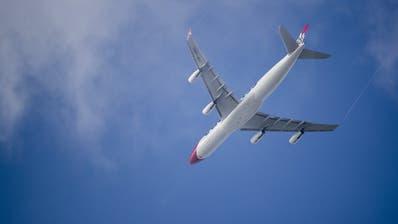 Ein A340 der Edelweiss Air ist bald auf dem Weg in die Arktis. (Bild: Keystone)