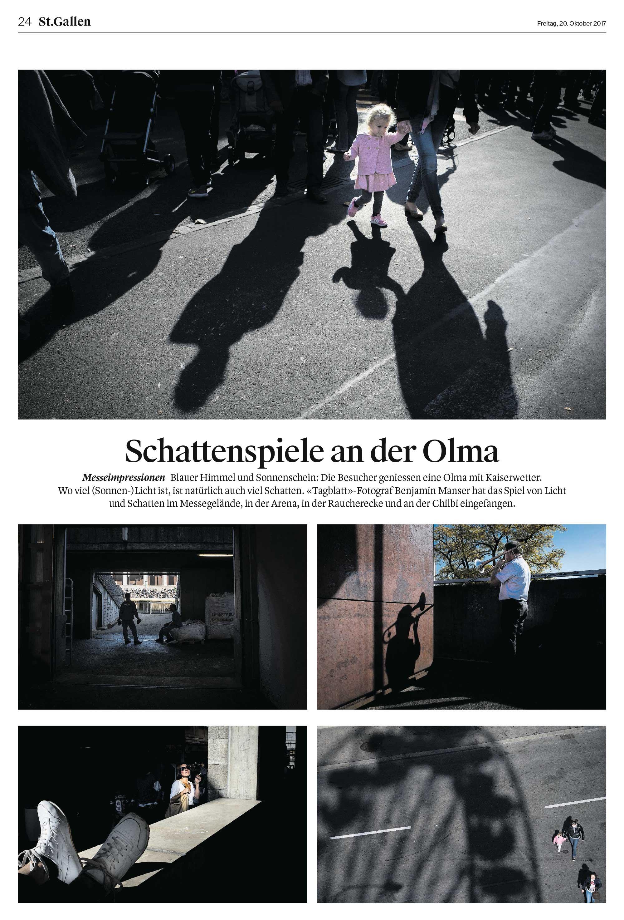 Award in der Kategorie «Photography - Picture Page». Fotograf: Benjamin Manser