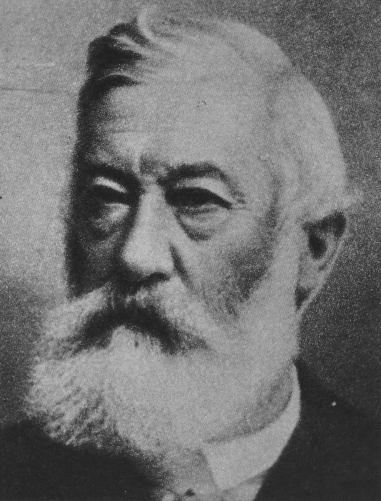 Der Entlebucher Joseph Zemp (1834-1908) war zwischen 1891 und 1908 Bundesrat – als erster Vertreter der Katholisch-Konservativen, der heutigen CVP. Auf ihn folgten sechs weitere Zentralschweizer CVP-Politiker. (Bild: PD)