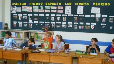 Schweiz trifft Peru: Im Colegio Pestalozzi prallen unterschiedliche Kulturen aufeinander. (Bild: PD)