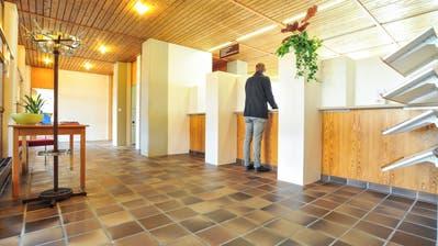Der Schalterbereich des Wängemer Gemeindehauses soll umgestaltet werden. (Bild: Olaf Kühne)
