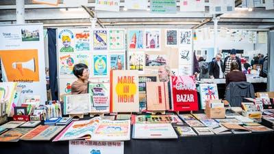 Impressionen von der Buch- und Druckkunst-Messe im Eisenwerk Frauenfeld. (Bilder: Andrea Stalder)