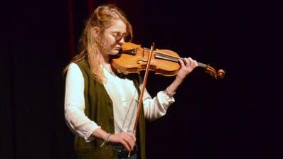Das Publikum wählte die Geigenvirtuosin Julia Miller zur ersten Gewinnerin.Bilder: Christoph Heer