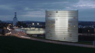 Visualisierung der Metro-Station mit Parkhaus in der Reussegg. (Bild: PD)