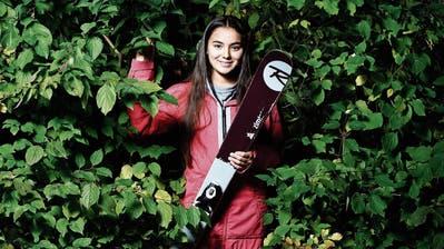 Alles im grünen Bereich: Die 15-jährige Michelle Rageth aus Baar hat in kurzer Zeit grosse Fortschritte erzielt. (Bild: Stefan Kaiser (Baar, 1. November 2018)