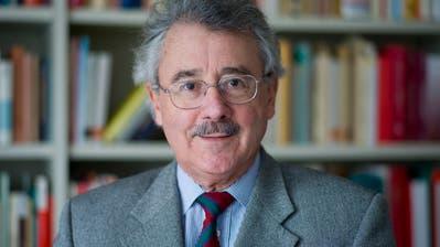 Rainer J. Schweizer, emeritierter Professor für Staatsrecht an der Universität St.Gallen.