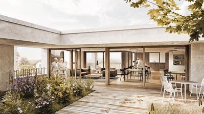 Der Bau des Alterszentrums der Sana Fürstenland AG soll nächstes Jahr beginnen. (Visualisierung: PD)